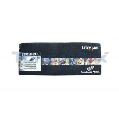 LEXMARK E350D TONER CARTRIDGE BLACK RP TAA 9K